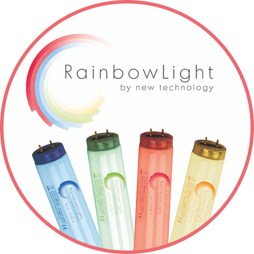 Rainbow Light PLUS blue 100W R